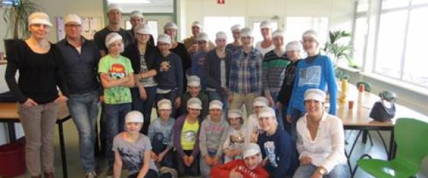Basisschool Den Akker bezoekt Van Eerd