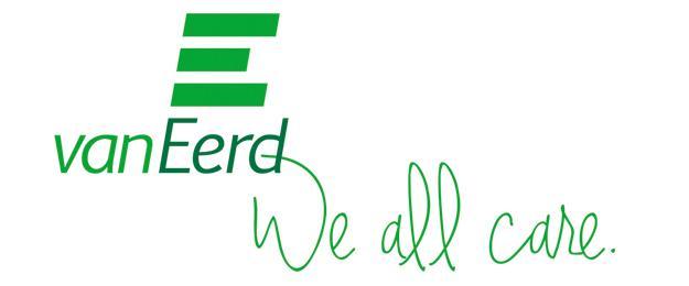 Van Eerd introduceert 'We all care'